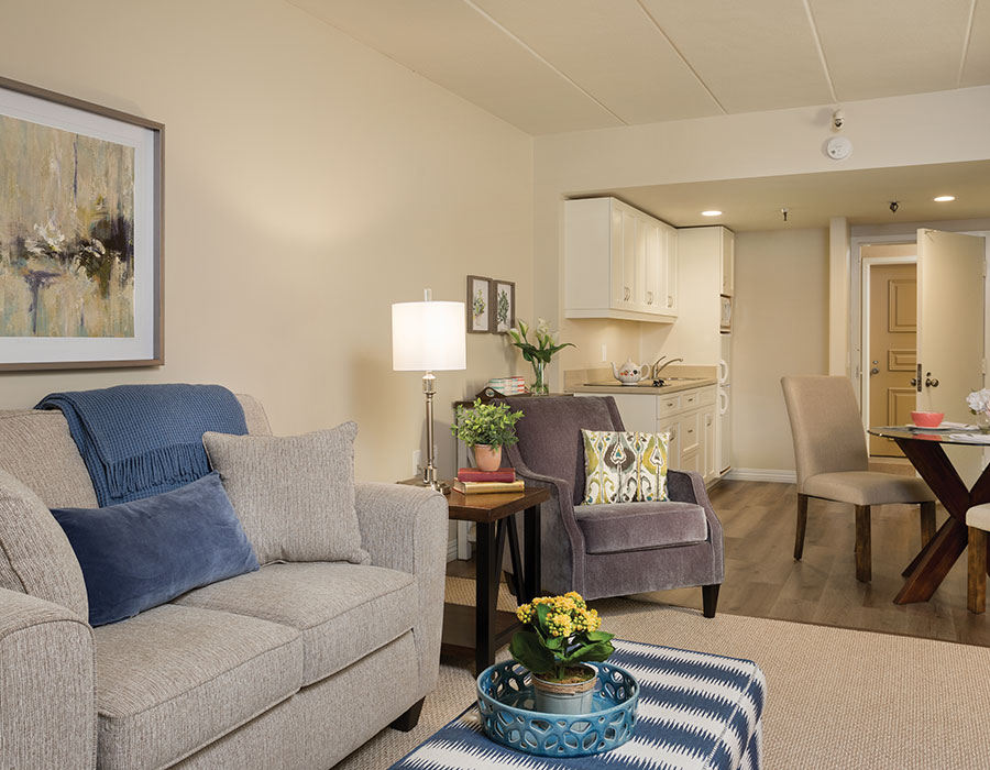 Open Living Spaces - Town & Country - Independent & Assisted Living in Santa Ana, CA